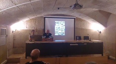 Presentación en Donostia
