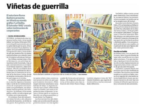 Noticia en El Correo (edición Álava)
